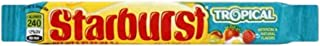 Starburst Tropical Fruit Chews 58.7g Per Pack x 3 Packs American Candy US Lollies Chew