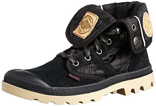 Palladium PALLABROUSE BAGGY EX BLACK/MJVE DSRT M, Damen Desert Boots - Schwarz (BLACK/MJVE DSRT 027), 39.5 EU (6 Damen UK)