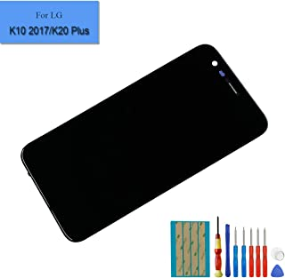 b55759c6b24 E-yiiviil - Pantalla LCD de Repuesto Compatible con LG K10 2017 K20 Plus  M250N