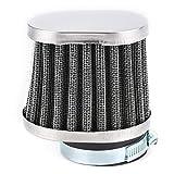 Filtro della presa d'aria, filtro dell'aria della motocicletta da 2 pollici Filtro dell'aria ad alto flusso universale pratico del pulitore della presa del motore di ricambio Accessorio per moto