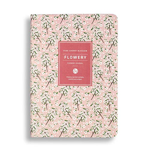 Daily Planner Weekly & Monthly Agenda Notebook To-Do List Hard Cover A5 Colorful Plant Style 100 Sheets 5.11x7.48 Inches