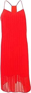 CeCe Womens Lacey - Striped Chiffon