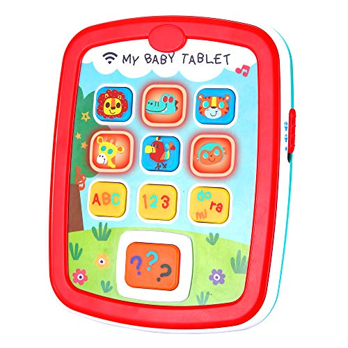 Infant Toys Baby Tablet Toys for 6 12 18 Month Old Boys and Girls with Music...