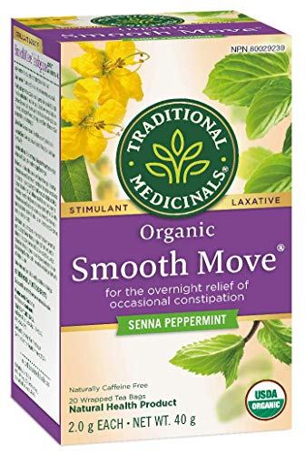 Traditional Medicinals Organic Smooth Move Peppermint, 20 tea bags, 40g