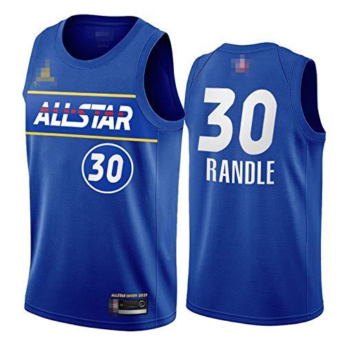 YDYL-LI Camiseta de uniforme de baloncesto para hombre, talla 30 Julius Randle