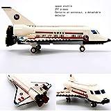 GXT Modelos de niño y niña Rompecabezas de Montaje de aeronaves Puzzles y la inserción de pasaje de Gran tamaño de Montaje de Aviones Concentración (Color : Space Shuttle)