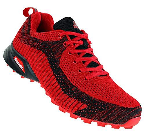 Sandic 712 Neon Turnschuhe Sneaker Sportschuhe Herren, Schuhgröße:46