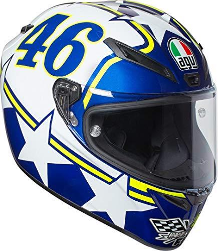 AGV Motorradhelm Veloce S E2205 Top PLK, Ranch Blau, Größe XS