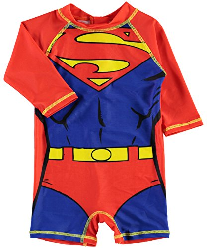 NAME IT Baby UV Badeanzug Superheld (92, Superman)