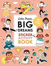Little People, BIG DREAMS Sticker Activity Book: With 100 Stickers