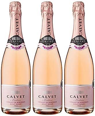 Calvet Cremant Bordeaux Brut Rose 75 cl