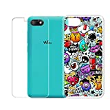 QFSM Transparent Simple Style Silicone Soft TPU Case for