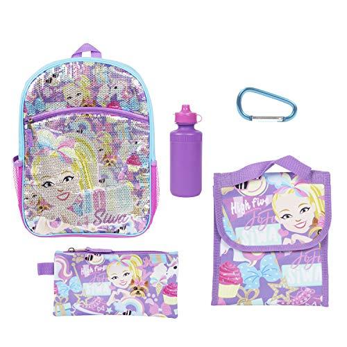Nickelodeon JoJo Siwa Sequin Back to School Essentials Set for Girls