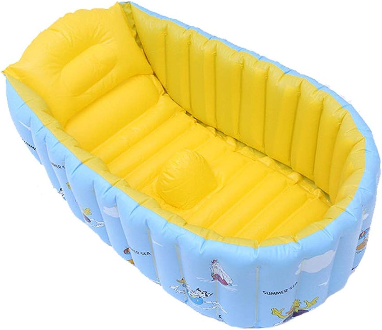 Aufblasbare badewanne kinder pvc kind aufblasbare badewanne spezielle dickes bad (Farbe   A)