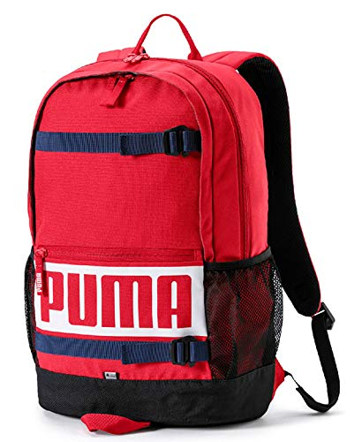Puma Deck Backpack, Unisex Adulto, Ribbon Red, OSFA