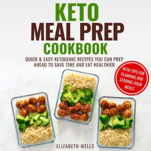 Keto Meal Prep Cookbook cover art