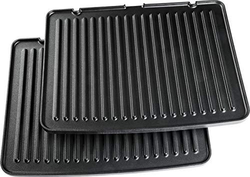 ECG ND KG 400 Superior Set de plaques de cuisson supplémentaires Noir