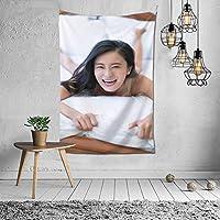 タペストリー 壁掛け 小島瑠璃子/こじまるりこ Kojima Ruriko 壁飾り 家 リビングルーム ベッドルーム 部屋 飾り 装飾布 ホームデコレーション 多機能人気 おしゃれ飾り152X102cm