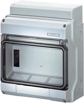 5 Module EG0565-C drau/ßen f/ür Garage IP65- RCD-gesch/ützt Sicherungskasten