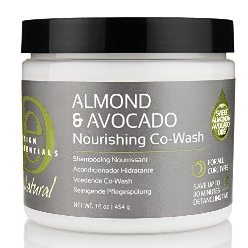 Design Essentials Shampooing nourrissant à l'amande et avocat 454 g