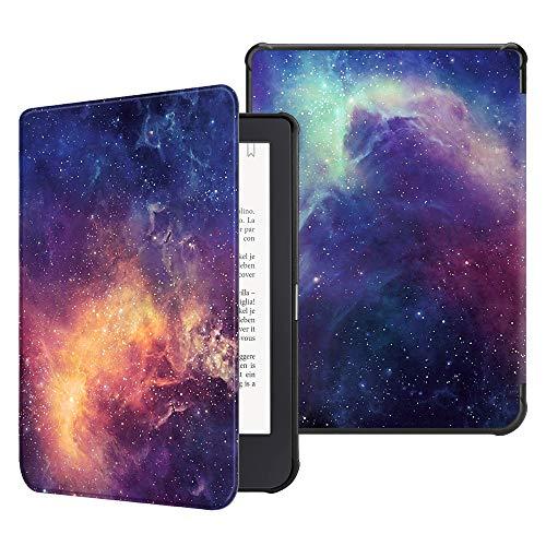 Fintie Hülle für Tolino Shine 3 - Ultradünne Schutzhülle mit Ruhemodus & Magnetverschluss für Tolino Shine 3 eReader (2018), die Galaxie