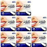 8 Ultimate White Whitening Dental Strips, (8 Boxes of Strips)