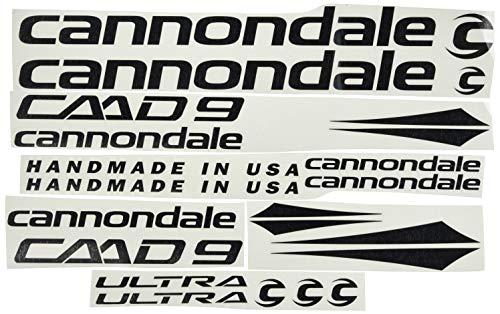 Ecoshirt OJ-JVWE-5GJK Autocollants cadre Cannondale CADD 9 Am27 Stickers Aufkleber Decals...