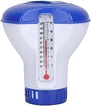 Alittle Piscina Flotante termómetro Dispositivo de dosificación Dispensador de Piscina Flotante Accesorios de Suministro de tabletas