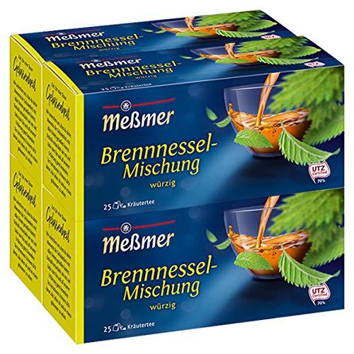 Meßmer Brennnessel 25 TB, 4er Pack (4 x 50 g Packung)
