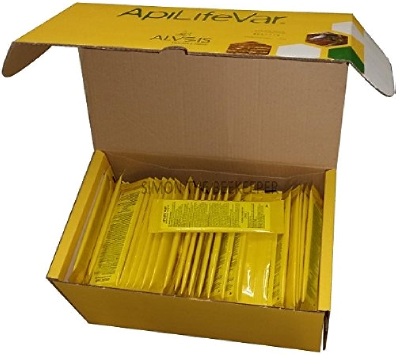 APILIFE VAR Varroa Treatment for Bees 100 Sachets (200 Strips)