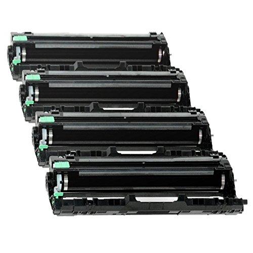 4er Set DR241CL Trommel kompatibel für Brother DCP-9020CDW, HL-3140CW, HL-3142CW, HL-3150CDW, HL-3152CDW, HL-3170CDW, HL-3172CDW, MFC-9130CW, MFC-9140CDN, MFC-9330CDW, MFC-9340CDW