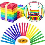 brightly colored popsicle sticks