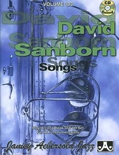 Vol. 103, David Sanborn (Book & CD Set)