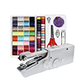 Chenny Mini portátil de Medida eléctrica Inteligente a Medida Puntada de Mano-Máquina de Coser con Costura Kit de Recorrido del hogar Accesorios de Costura (Costura Set)