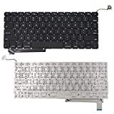 SUNMALL Keyboard Replacement Without Backlit Compatible with 15.4' MacBook Pro Unibody A1286 09-12 Year SeriesMC118LL/A MB985LL/A MB986LL/A MC371LL/A MC372LL/A MC373LL/A MC721LL/A MC118LL/A …