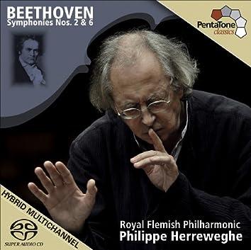 Beethoven, L. Van: Symphonies Nos. 2 and 6