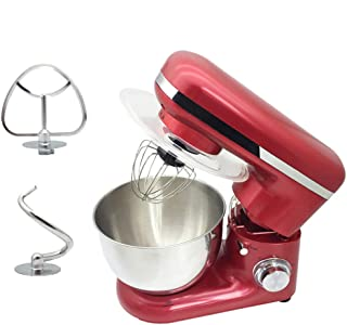 Electric Stand Mixer 6-Speed 1500W Setting Power Egg Beater Kitchen Whisk with Low Noisy, 4.0L Stainless Steel Mixer Bowl ...
