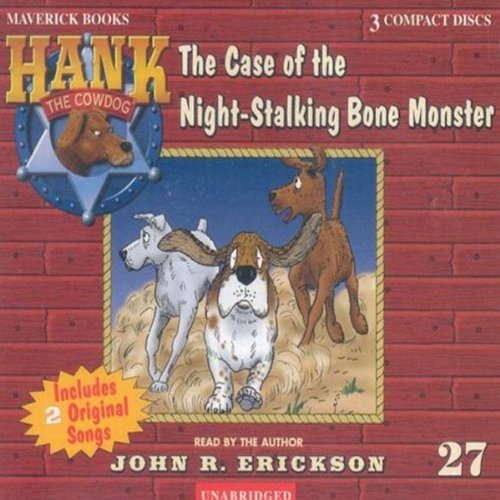 The Case of the Night Stalking Bone Monster audiobook cover art