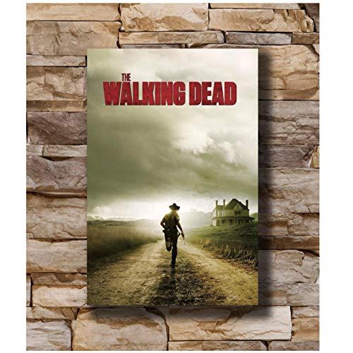 Kongzir The Walking Dead Season Two Series De Tv Póster Pintura En Lienzo Impresión En Lienzo Arte De La Pared Imágenes Decoración Para El Hogar -50X70Cmx1Pcs -Sin Marco