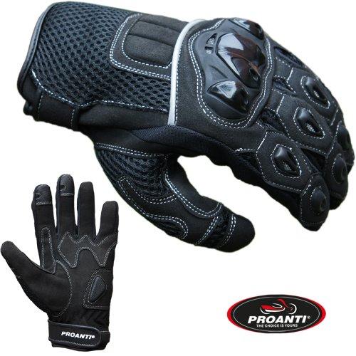 PROANTI Motocrosshandschuhe Motocross Enduro Supermoto Quad MX Motorrad Handschuhe - Größe L