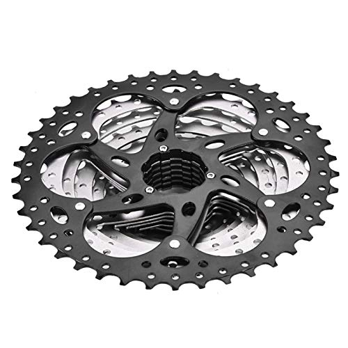 DAUERHAFT Bike 10-Speed Cassette,Anti-rust,High Strength Mountain Bike Freewheel,with Smooth Rotation,Bicycle Replacement Accessory,for 11-42t Chain Ring