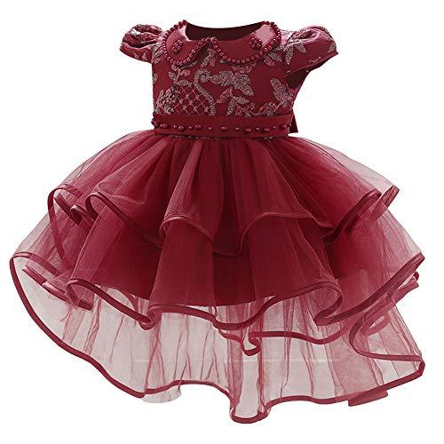 LZH ベビー フォーマルドレス 洋装フォマール 子供服 セレモニードレス 新生児 赤ちゃんドレス リボン 出産祝い お宮参り 退院着 結婚式 お誕生日 プレゼント ベビー用 スカート