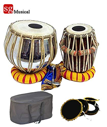 SG Musical Tabla Set Iron Dagga Musical Instrument Bag/Cover Cusion, Cover