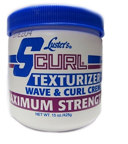 Lusters Luster SCURL Texturizer Wave & Curl Creme MAXIMUM STRENGTH 425g