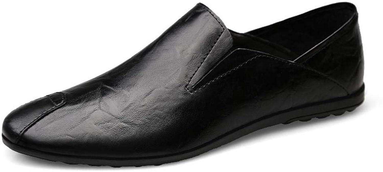 FELICIGG Herrenschuhe Faule Stze Von Füen Leder Flache Business-Schuhe