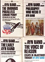 Ayn Rand Library Set (Philosphey: Who Needs It / The Early Ayn Rand / The Ominous Paralles)