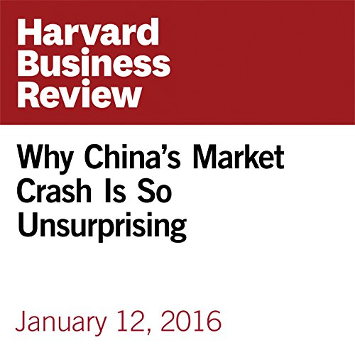 Why China's Market Crash Is So Unsurprising copertina