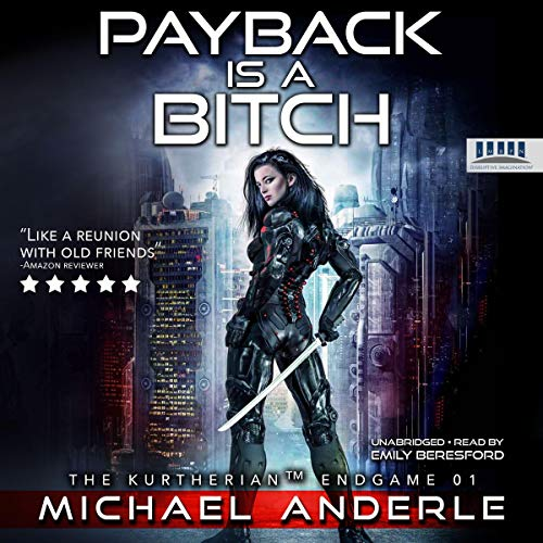 Payback Is a Bitch audiobook cover art