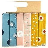 6 unids / Set paños de Limpieza servilletas de Tela de Toalla sin Papel Tela de bebé Franela de algodón Herramientas de Limpieza del hogar-39-A-1