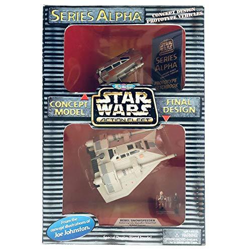 Star Wars Micro Machines Action Fleet Series Alpha Rebel Snowspeeder